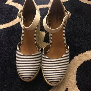Striped espadrilles